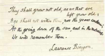 binyon-laurence-1869-1943-autograph-manuscript-of-the-immortal-fourth-stanza-of-his-poem-for-the-fallen